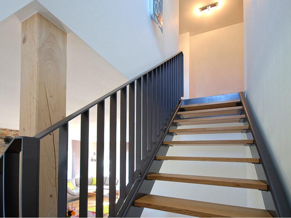 Ferienwohnung Schmied Treppe