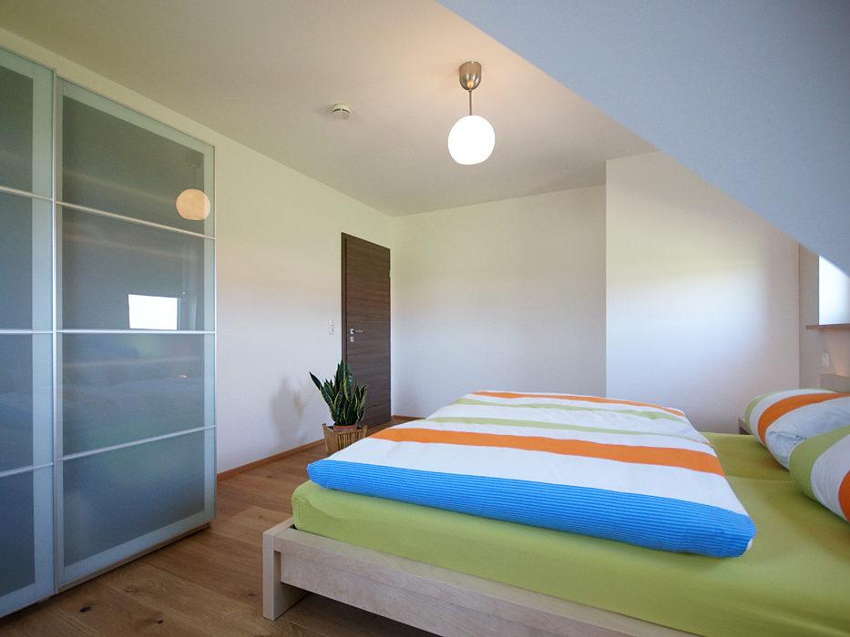Ferienwohnung Schmied Schlafzimmer