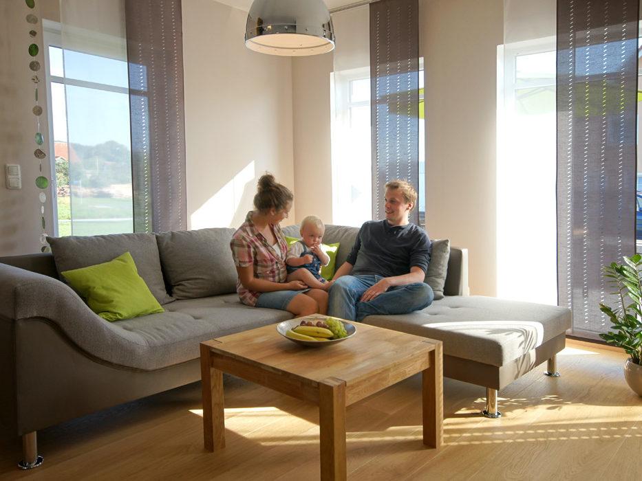 Ferienwohnung Schmied Wohnraum