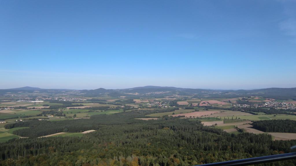 Blick vom Rauhen Kulm in Richtung Steinwald