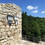 Burgruine Liebenstein Burgmauer