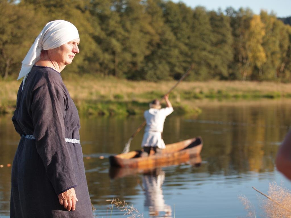 Teich im Geschichtspark