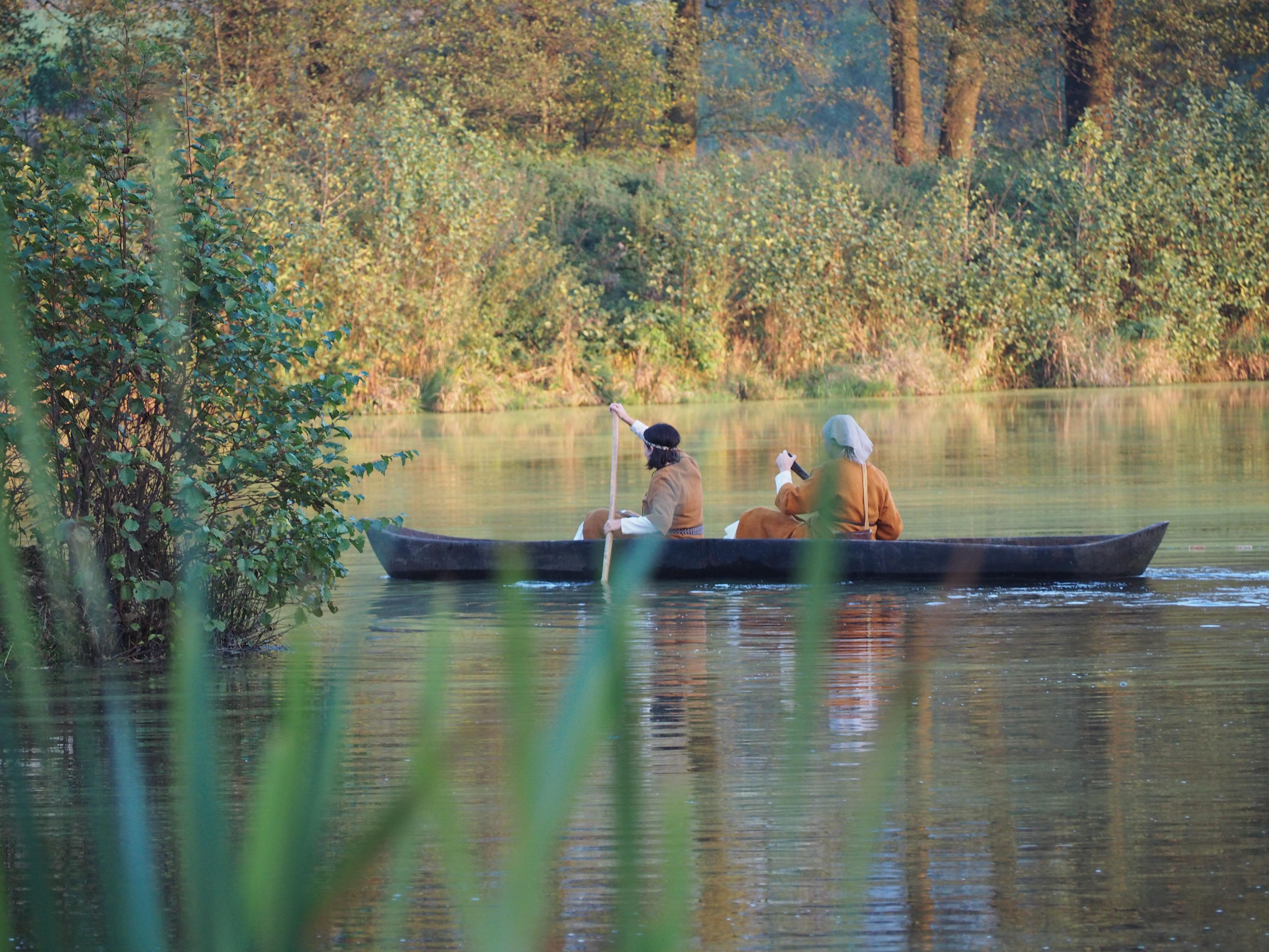 Mittelalterliche Fischerinnen