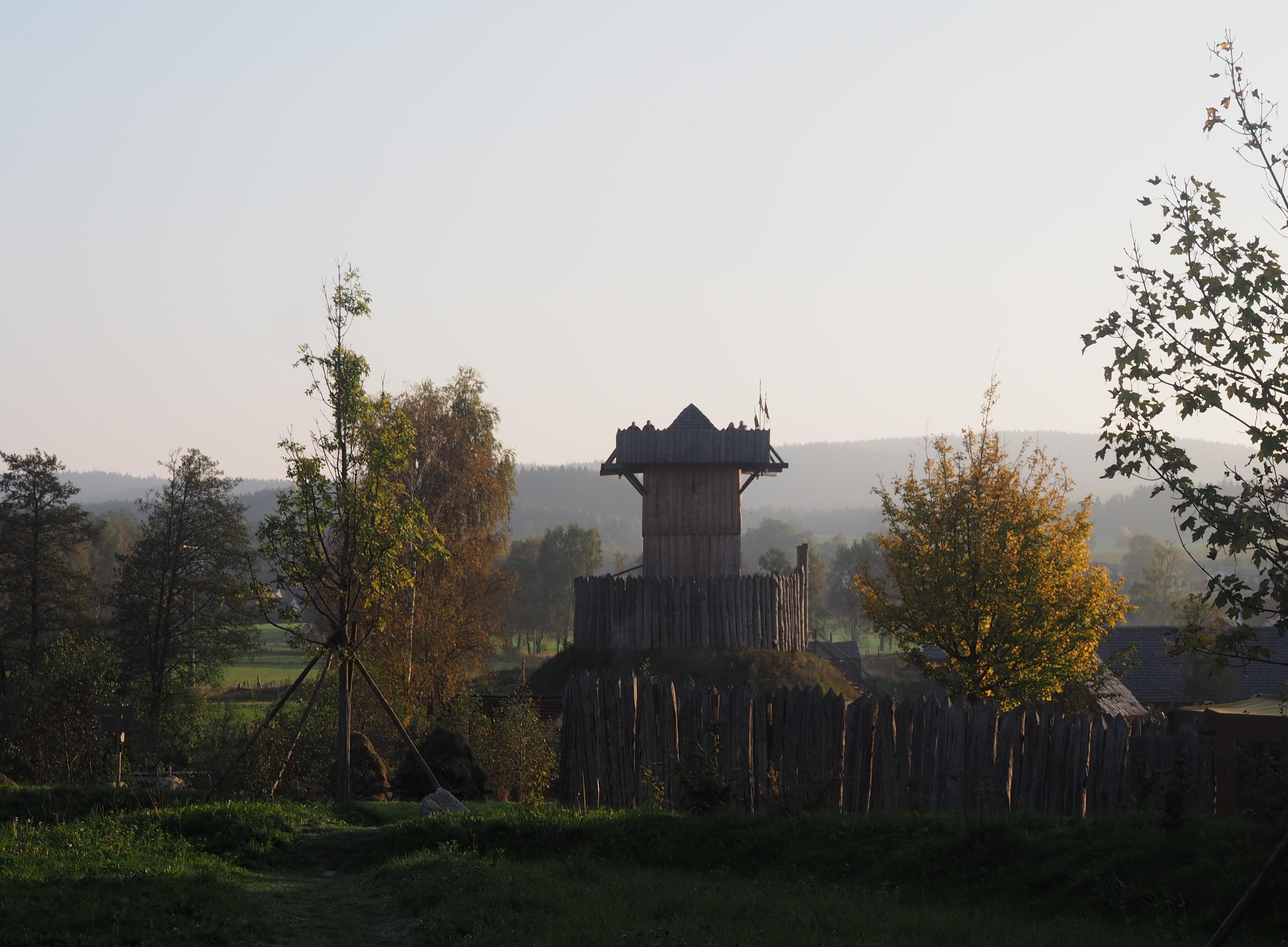 Motte Geschichtspark Bärnau Tachov