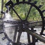 Wasserrad im Waldnaabtal