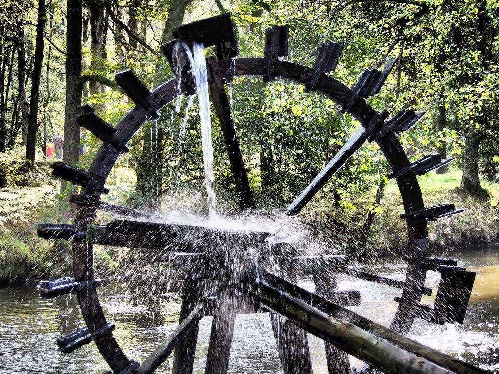 Wasserrad bei der Blockhütte