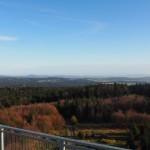 Blick vom Rabenberg in den Böhmerwald