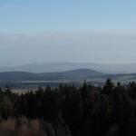 Blick vom Rabenberg in den bayerischen Wald