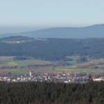 Blick vom Rabenberg auf Bärnau