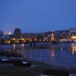 Abendstimmung im Fischhofpark Tirschenreuth