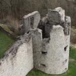 Burgruine Flossenbürg Wehrturm