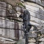 Burgruine Weissenstein Skulptur