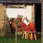 Bäuerin im Mittelalter