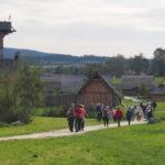 Blick in den Geschichtspark Bärnau Tachov