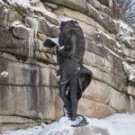 Skulptur am Weissenstein