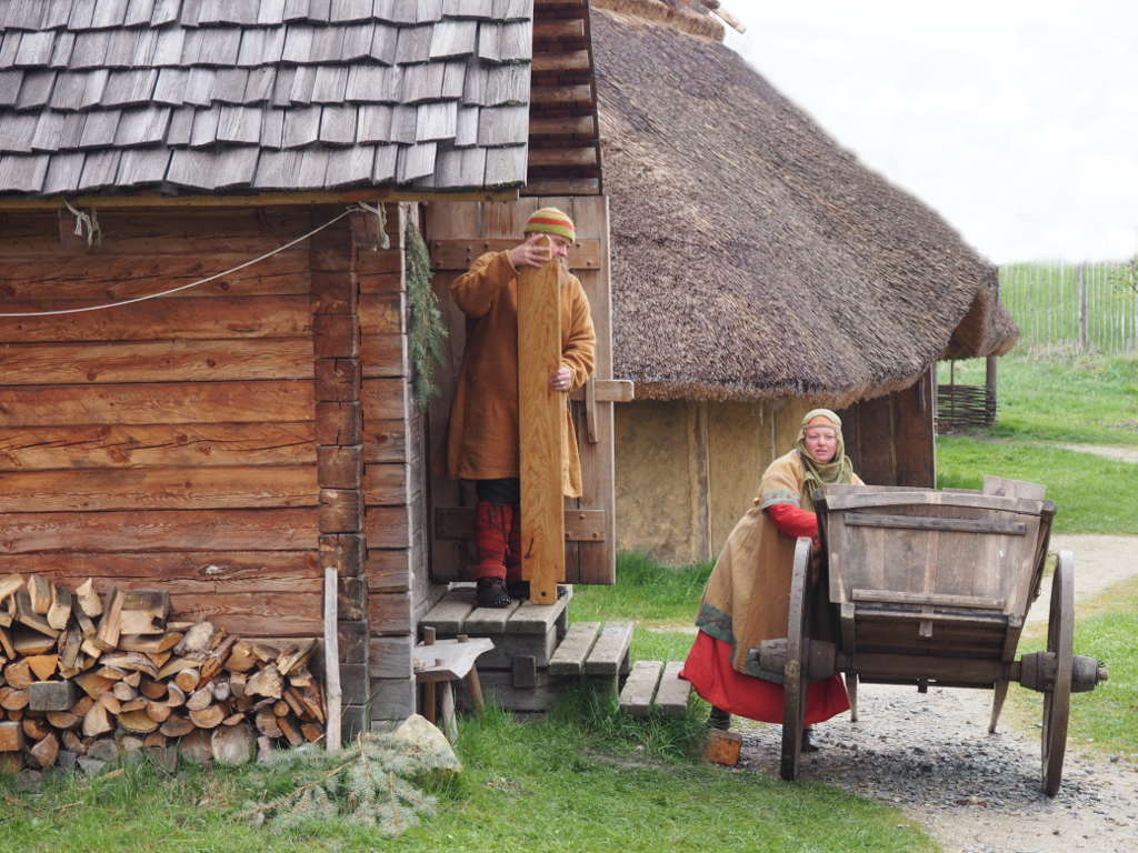 Händler im Steinberghaus