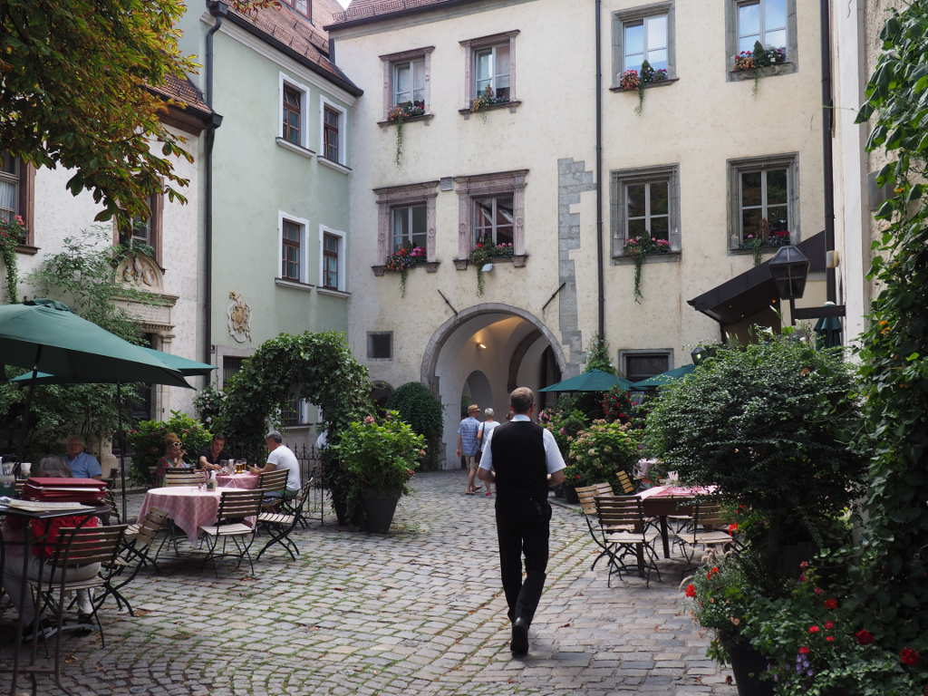 Biergarten Regensburg Ferienwohnung Schmied Barnau Stiftland