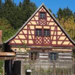 Bauernhaus mit Fachwerk